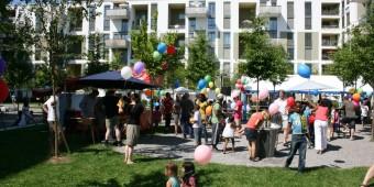 Einweihungsfest der Siedlung Klee 23-06-2012